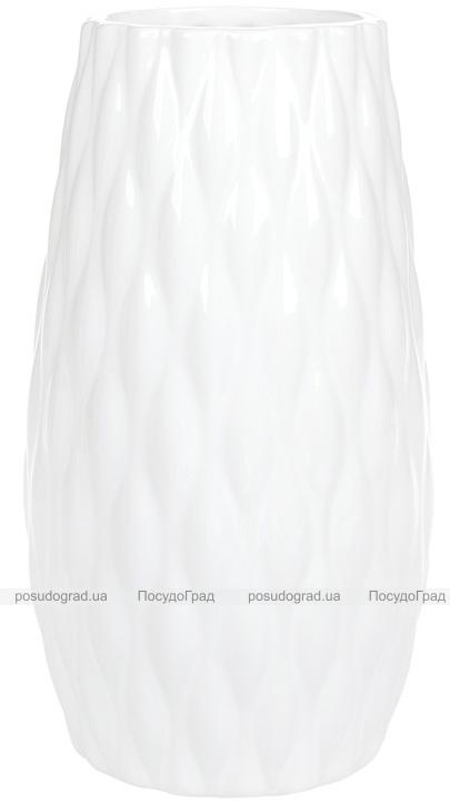 Ваза керамическая Jeffersonia Bubble 19.8см, белая