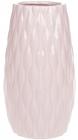 Ваза керамическая Jeffersonia Bubble 19.8см, розовая