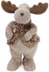 """Декоративна іграшка """"Північний Олень"""" 35см з використанням натуральних матеріалів"""