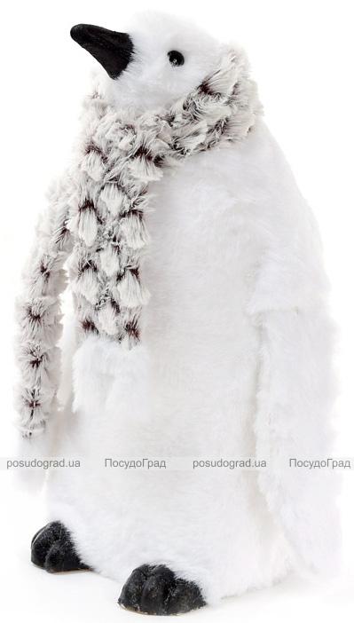 """Декоративная фигура """"Белый Пингвин"""" 60см, пенопласт"""