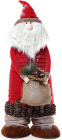 """Новорічна декоративна фігурка """"Санта Клаус з мішком"""" 65см"""