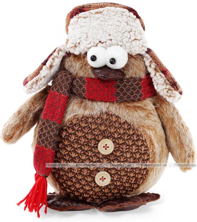 """Новогодняя мягкая игрушка """"Пингвин"""" 30х15х28см"""