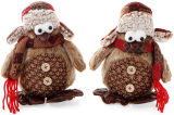 """Новорічна м'яка іграшка """"Пінгвін"""" 16х9х18см"""