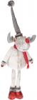 """М'яка іграшка """"Лось в білому костюмі"""" 95см"""