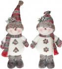 """Мягкая игрушка """"Снеговик в снегу"""" 46см"""