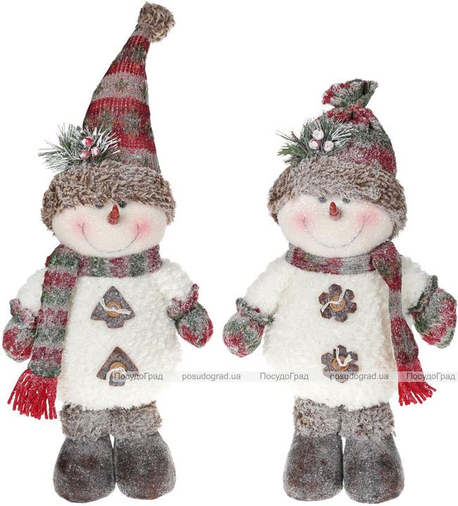 """М'яка іграшка """"Сніговик в снігу"""" 46см"""