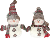 """Мягкая игрушка """"Снеговик в снегу"""" 43см"""