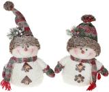 """Мягкая игрушка """"Снеговик в снегу"""" 32см"""