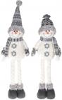 """М'яка іграшка """"Сніговик чорно-білий"""" 58см"""