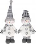 """Мягкая игрушка """"Снеговик черно-белый"""" 46см"""