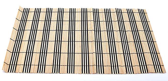 Бамбуковый коврик (салфетка) Bamboo Mat-110, 30х45см, цветной