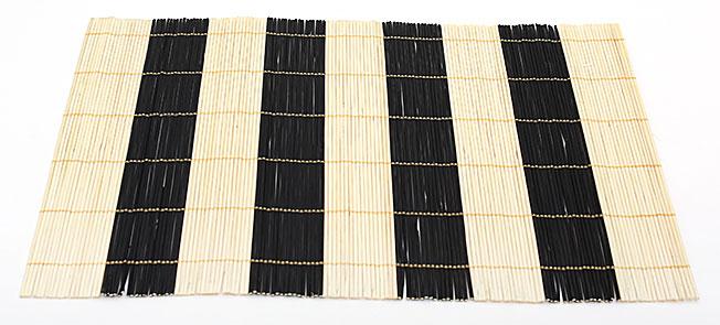 Бамбуковый коврик (салфетка) Bamboo Mat-112, 30х45см, цветной