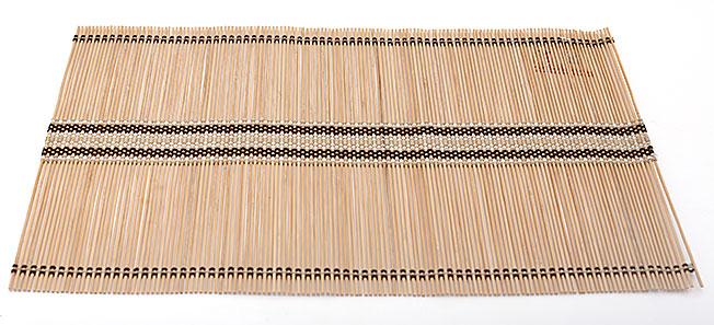 Бамбуковый коврик (салфетка) Bamboo Mat-113, 30х45см, цветной
