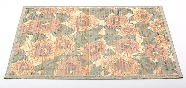 Бамбуковый коврик (салфетка) Bamboo Mat-120, 30х45см, с прошитым краем