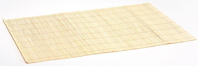Бамбуковый коврик (салфетка) Bamboo-110, 30x45см