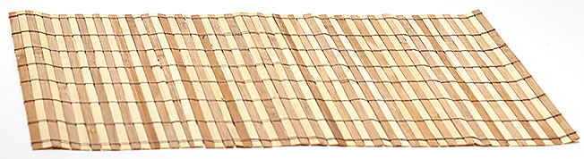 Бамбуковый коврик (салфетка) Bamboo-115, 30x45см