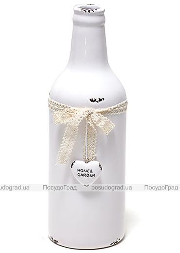 Керамическая ваза Shabby Chic Ø8.7см, высота 26см