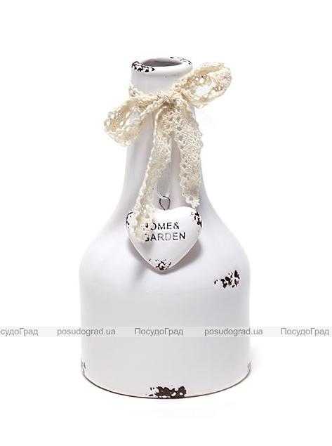 Керамическая ваза Shabby Chic Ø8см, высота 14.5см
