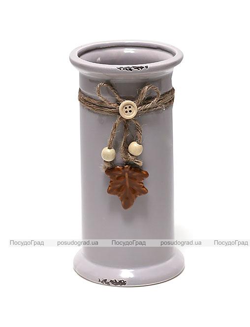 Керамическая ваза Shabby Chic Ø10см, высота 19см