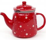 """Чайник заварювальний """"Зірки на червоному"""" 850мл, керамічний"""