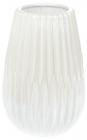 """Ваза керамічна """"Felicia"""" 20.3см, перлинний білий"""