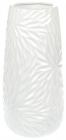 Ваза керамічна Aster 29см, білий перламутровий