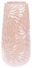Ваза керамическая Aster 29см, розовый перламутровый