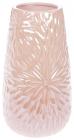 Ваза керамічна Aster 20см, рожевий перламутровий