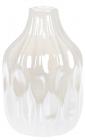 """Ваза керамічна """"Miliani"""" 15.6см, перлинний білий"""