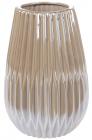 """Ваза керамічна """"Felicia"""" 20.3см, перлинний сірий"""