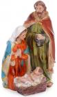 """Різдвяна композиція """"Немовля Ісус"""" 10.5х9х16см, полістоун"""