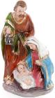 """Різдвяна декоративна статуетка """"Вертеп"""" 16.5см"""