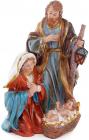 """Різдвяна декоративна статуетка """"Вертеп"""" 23см"""