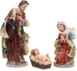 """Різдвяний декоративний набір """"Вертеп"""" 3 фігури 40см"""