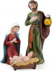 """Рождественский набор 3 фигуры """"Вертеп"""" 70см"""
