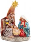 """Рождественская фигурка """"Святое семейство"""" 15.5см"""