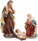 """Рождественский набор """"Святое семейство"""" 3 фигуры 30см"""