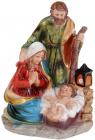 """Різдвяна композиція """"Немовля Ісус"""" 11.5х10х16см, полістоун"""