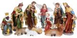 """Набір 11 різдвяних статуеток """"Вертеп"""" 40см, полистоун"""
