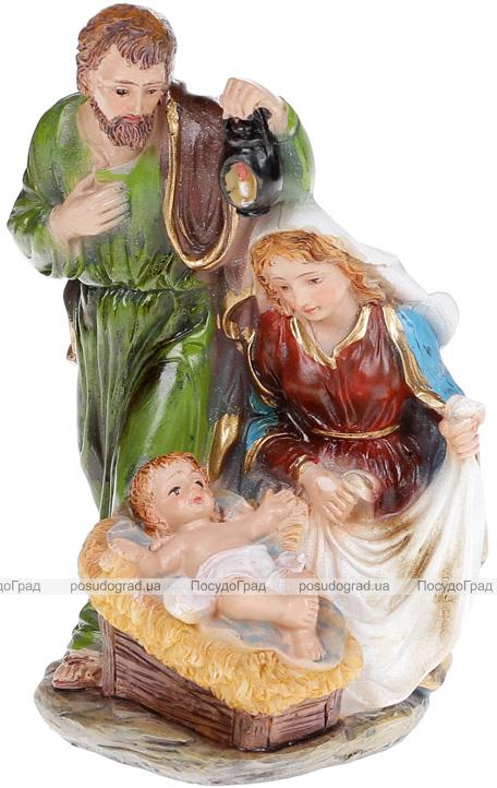"""Різдвяна композиція """"Немовля Ісус"""" 10.5х8.5х15см, полістоун"""