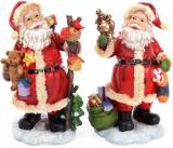 """Новорічна декоративна статуетка """"Добрий Санта"""" 28см"""