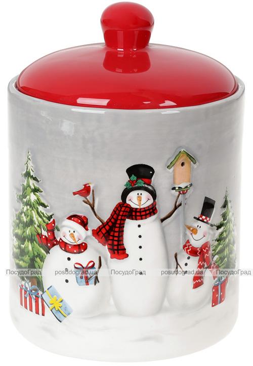 Банка керамическая «Snowman Party» 1100мл