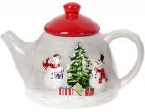 Чайник заварочный «Snowman Party» керамический 550мл