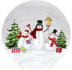 Тарелка керамическая «Snowman Party» Ø24.8см