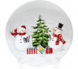 Тарелка керамическая «Snowman Party» Ø19.9см