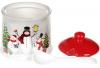 Сахарница керамическая «Snowman Party» 250мл, с ложкой