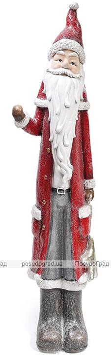 """Новогодняя керамическая фигура """"Санта Клаус"""" 122см"""
