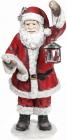 """Фигура новогодняя """"Санта в красном с фонариком"""" 80см"""