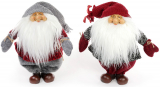 "Новогодняя мягкая игрушка ""Добрый Санта"" 36х16х34см"