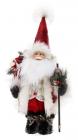 "Новогодняя мягкая игрушка ""Санта с гостинцами"" 25х15х40см"